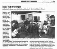 epd-Wochenspiegel - Rock mit Drehorgel