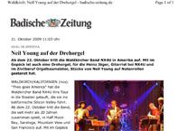 Badische Zeitung - Neil Young auf der Drehorgel